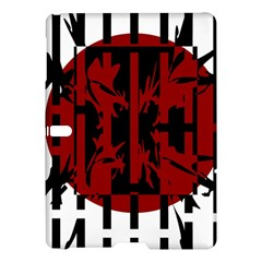 Red, black and white decorative abstraction Samsung Galaxy Tab S (10.5 ) Hardshell Case