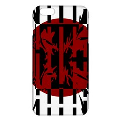 Red, black and white decorative abstraction iPhone 6 Plus/6S Plus TPU Case