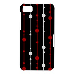 Red black and white pattern BlackBerry Z10