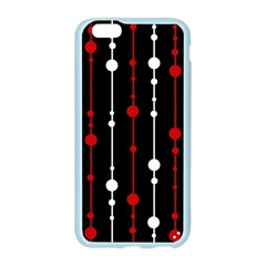 Red black and white pattern Apple Seamless iPhone 6/6S Case (Color)