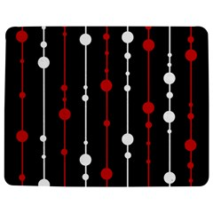 Red Black And White Pattern Jigsaw Puzzle Photo Stand (rectangular)