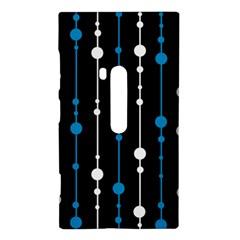 Blue, white and black pattern Nokia Lumia 920