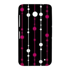 Magenta white and black pattern Nokia Lumia 630