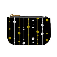 yellow, black and white pattern Mini Coin Purses
