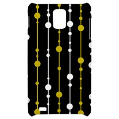 yellow, black and white pattern Samsung Infuse 4G Hardshell Case