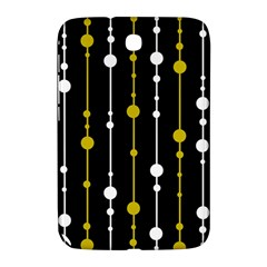 yellow, black and white pattern Samsung Galaxy Note 8.0 N5100 Hardshell Case