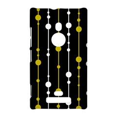 yellow, black and white pattern Nokia Lumia 925