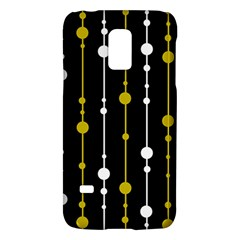 yellow, black and white pattern Galaxy S5 Mini