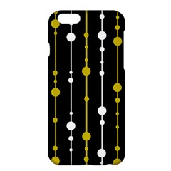 yellow, black and white pattern Apple iPhone 6 Plus/6S Plus Hardshell Case