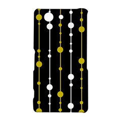 yellow, black and white pattern Sony Xperia Z3 Compact