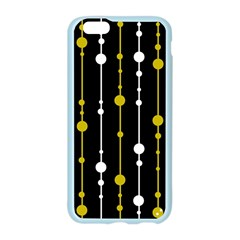 yellow, black and white pattern Apple Seamless iPhone 6/6S Case (Color)
