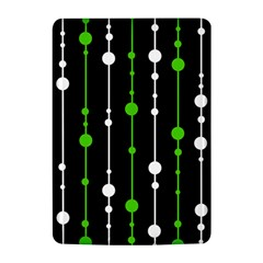 Green, white and black pattern Kindle 4