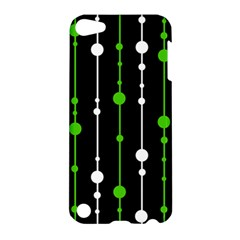 Green, white and black pattern Apple iPod Touch 5 Hardshell Case