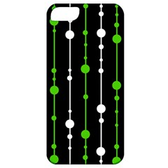 Green, white and black pattern Apple iPhone 5 Classic Hardshell Case