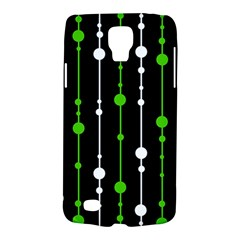 Green, white and black pattern Galaxy S4 Active