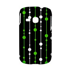 Green, white and black pattern Samsung Galaxy S6310 Hardshell Case