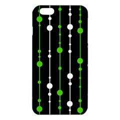Green, white and black pattern iPhone 6 Plus/6S Plus TPU Case