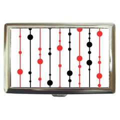 Red, black and white pattern Cigarette Money Cases