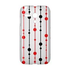 Red, black and white pattern Motorola Moto G