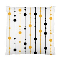 Yellow, black and white pattern Standard Cushion Case (One Side)
