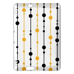 Yellow, black and white pattern Kindle Fire HDX Hardshell Case
