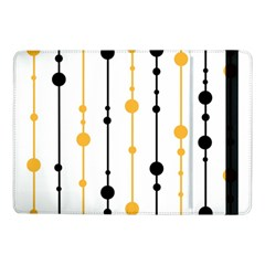 Yellow, black and white pattern Samsung Galaxy Tab Pro 10.1  Flip Case