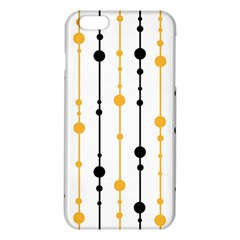 Yellow, black and white pattern iPhone 6 Plus/6S Plus TPU Case