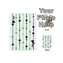 Green pattern Playing Cards 54 (Mini)