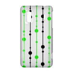 Green pattern HTC Evo Design 4G/ Hero S Hardshell Case