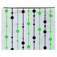 Green pattern Cosmetic Bag (XXXL)