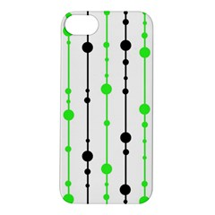 Green pattern Apple iPhone 5S/ SE Hardshell Case