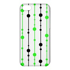 Green pattern Apple iPhone 5C Hardshell Case