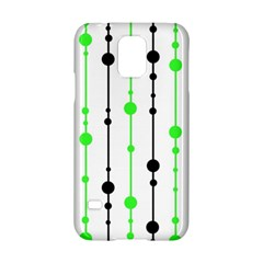 Green pattern Samsung Galaxy S5 Hardshell Case