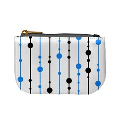 Blue, white and black pattern Mini Coin Purses