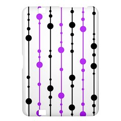 Purple, white and black pattern Kindle Fire HD 8.9