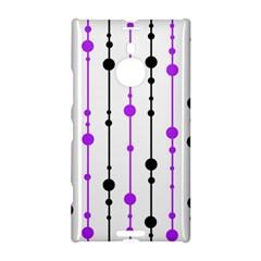 Purple, white and black pattern Nokia Lumia 1520