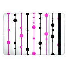 Magenta, black and white pattern Samsung Galaxy Tab Pro 10.1  Flip Case