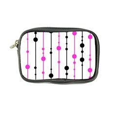 Magenta, black and white pattern Coin Purse