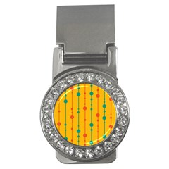 Yellow, green and red pattern Money Clips (CZ)