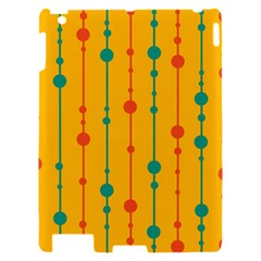 Yellow, green and red pattern Apple iPad 2 Hardshell Case