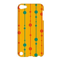 Yellow, green and red pattern Apple iPod Touch 5 Hardshell Case