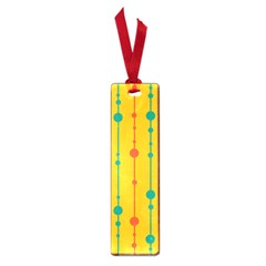 Yellow, green and red pattern Small Book Marks