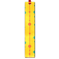 Yellow, green and red pattern Large Book Marks