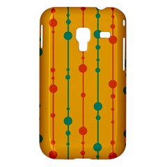 Yellow, green and red pattern Samsung Galaxy Ace Plus S7500 Hardshell Case