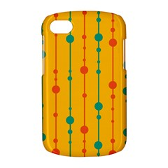 Yellow, green and red pattern BlackBerry Q10