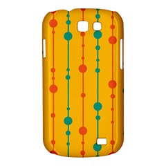 Yellow, green and red pattern Samsung Galaxy Express I8730 Hardshell Case