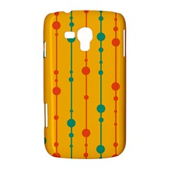 Yellow, green and red pattern Samsung Galaxy Duos I8262 Hardshell Case