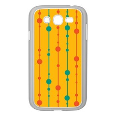 Yellow, green and red pattern Samsung Galaxy Grand DUOS I9082 Case (White)