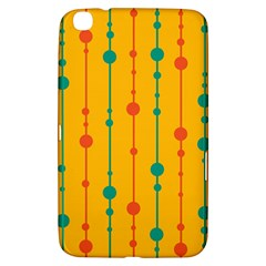 Yellow, green and red pattern Samsung Galaxy Tab 3 (8 ) T3100 Hardshell Case