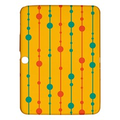 Yellow, green and red pattern Samsung Galaxy Tab 3 (10.1 ) P5200 Hardshell Case